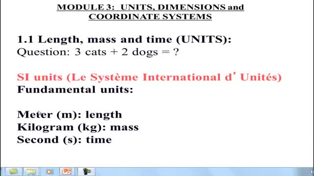 ONLINE PHY100_Module 3