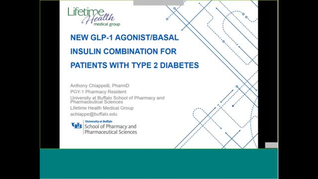 New GLP-1 Agonist/Basal Insulin Combination for Patients with Type 2 Diabetes