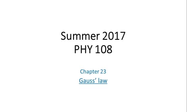 Summer 2017 - PHY108 - Rec3