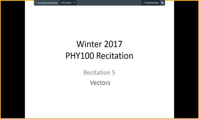 Winter 2017 - PHY100 - Rec5