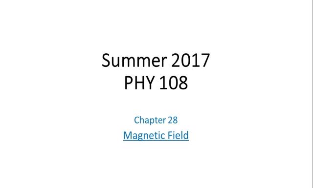 Summer 2017 - PHY108 - Rec8