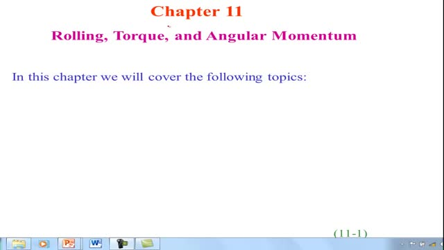ONLINE PHY107 Chapter 11